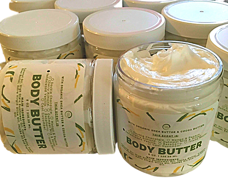 Sandalwood Vanilla Body Butter.