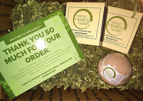 Good Things Come In Three Bundle (Receive 2 Soaps & 1 Bath Bomb).