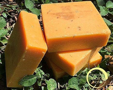 Peach Tea Scrub Soap.