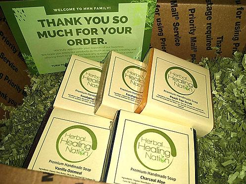 Soap Bundle (Receive 5 Soaps).