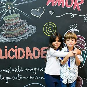 Samuel e Maria 6 anos