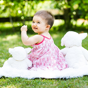 Clara 8 meses
