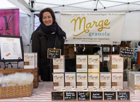 Come visit Marge Granola at the Ballard Farmers Market