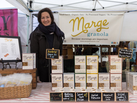 Come visit Marge Granola at the Ballard Farmers Market