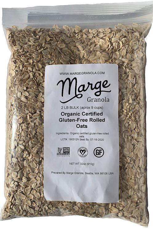 Organic Certified Gluten-Free Rolled Oats