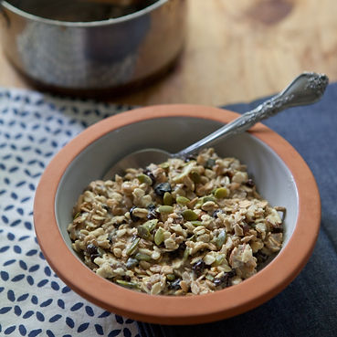 Warm Maple Date Muesli