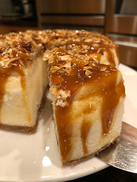 Hazelnut Caramel Cheesecake