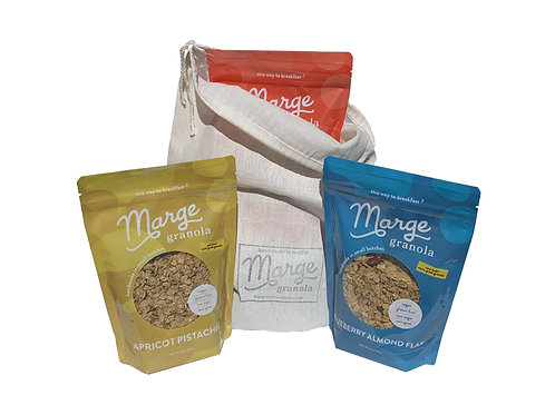 3-Pouch Gift Bag