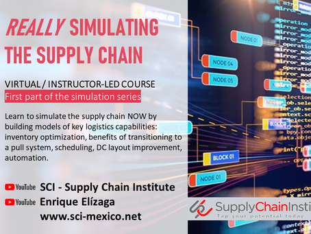 REALLY simulating the Supply Chain