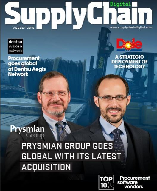 Portada de Supply Chain Digital