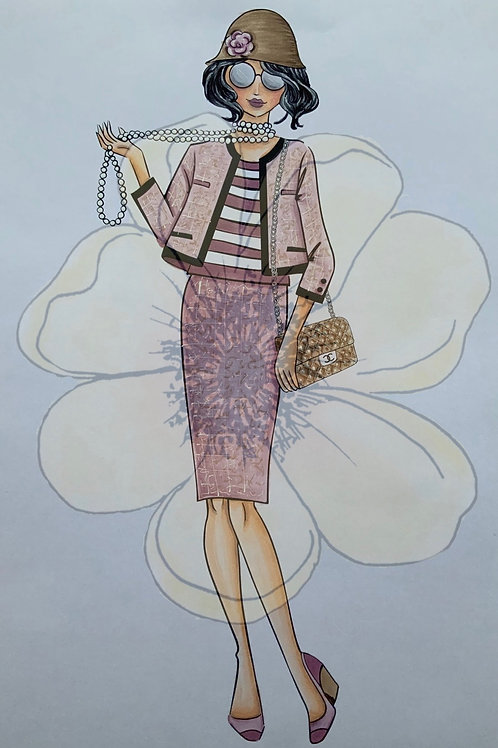 COCO CHANEL - Digi Stamp - NEW