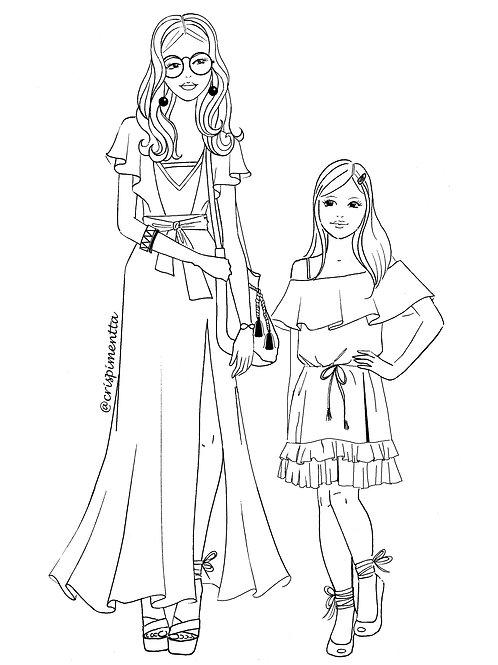 Mary e Laura