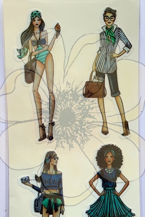 Minhas It girls - Stickers