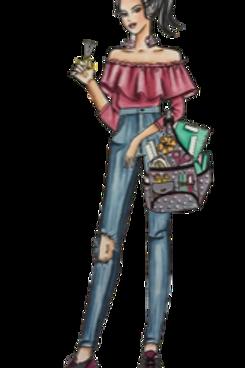 Nicole - Chipboard