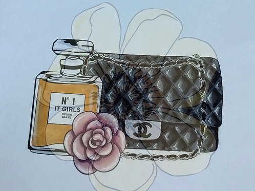 BOLSA CHANEL -Chipboard