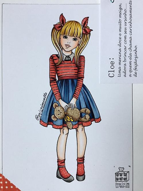 Cloé - Digi Stamp