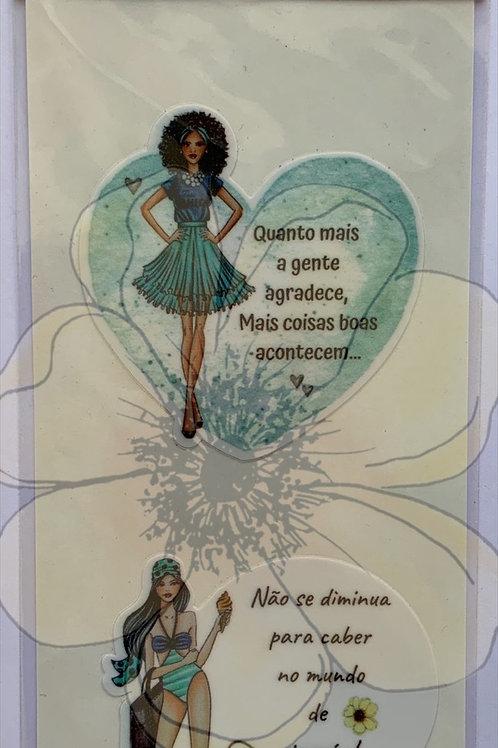 Olivia e Paloma ( frases) - Stickers
