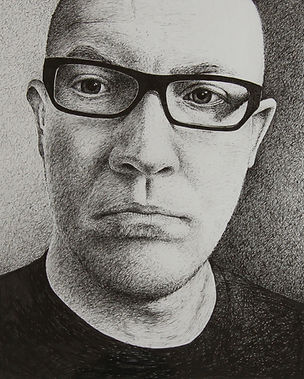 David Kendall _ pen and ink portrait.jpe