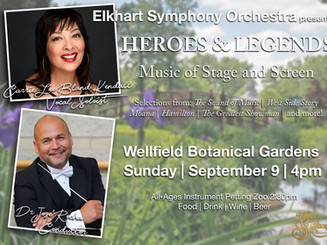 Carrie Lee Bland-Kendall w/ The Elkhart Symphony Orchestra