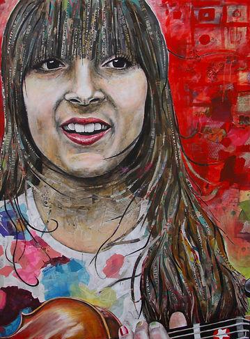 Poppy Dee portrait _ by David Kendall _