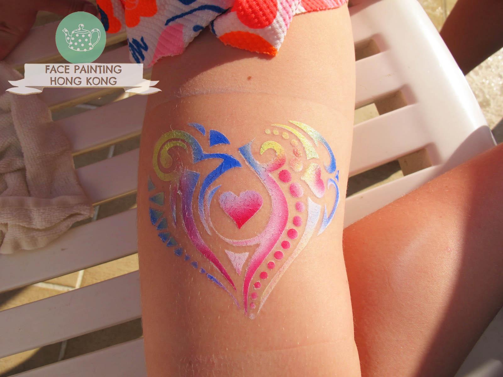 Waterproof spray tattoo