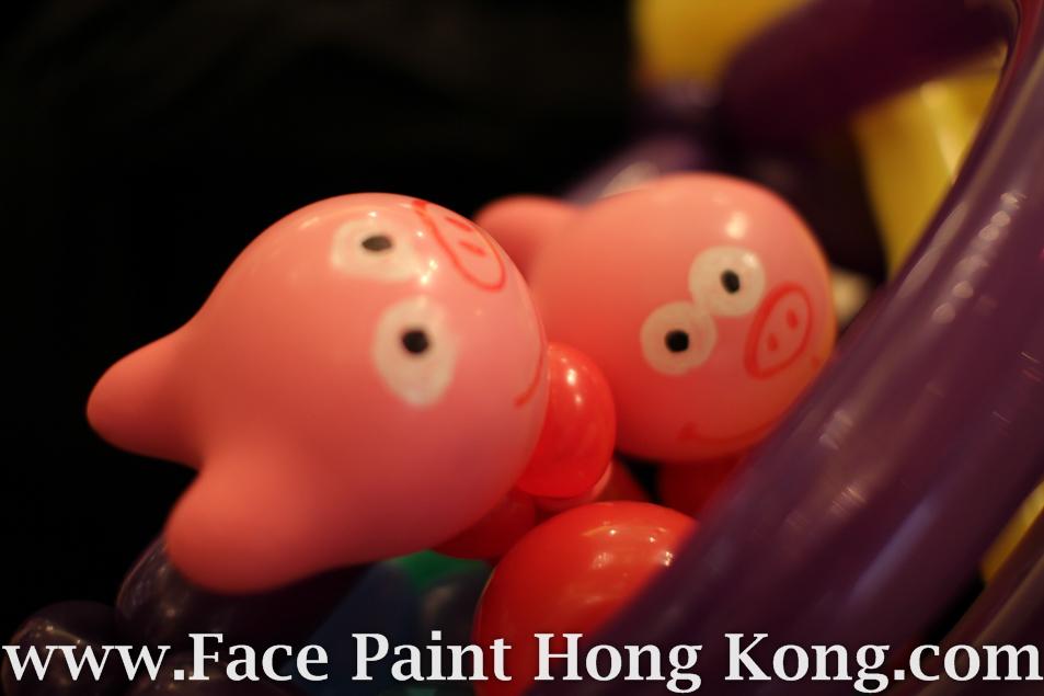 扭氣球 香港