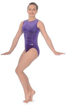 tiara-crystal-motif-sleeveless-gymnastic