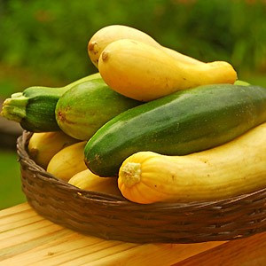 assorted zucchini and summer squash