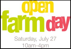 Open Farm Day notice