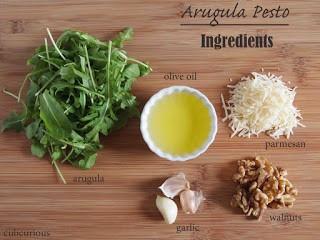 arugula pesto ingredients