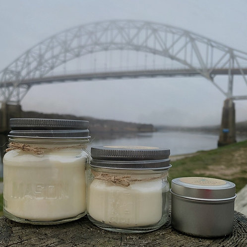 Canal Morning Fog Soy Candle
