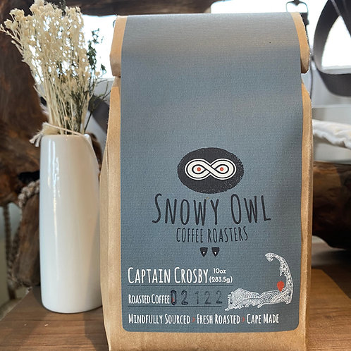 Snowy Owl Captain Crosby Blend Coffee Beans