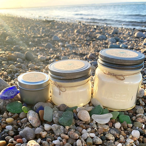 Kiya Marie by the Sea Glass Soy Candle