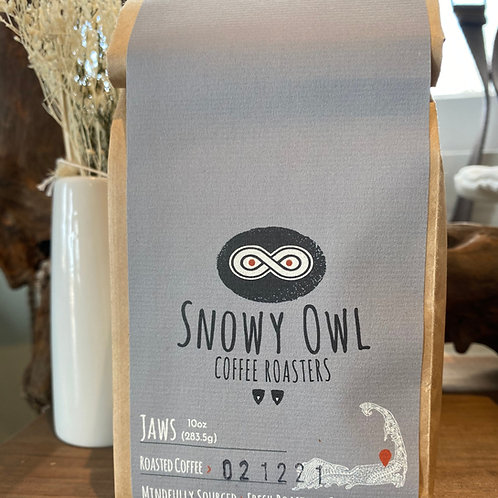 Snowy Owl Jaws Blend Coffee Beans