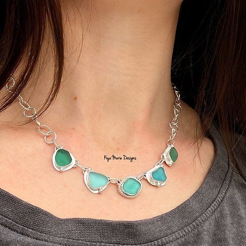 Princess Sea Glass Necklace