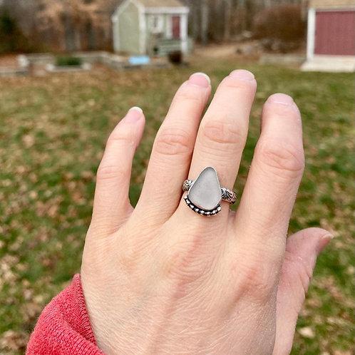Lavender Floral Ring
