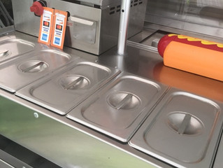 Brand new Kings crown cart With 18 x 18 flat surface griddle on sale now call for special pricing