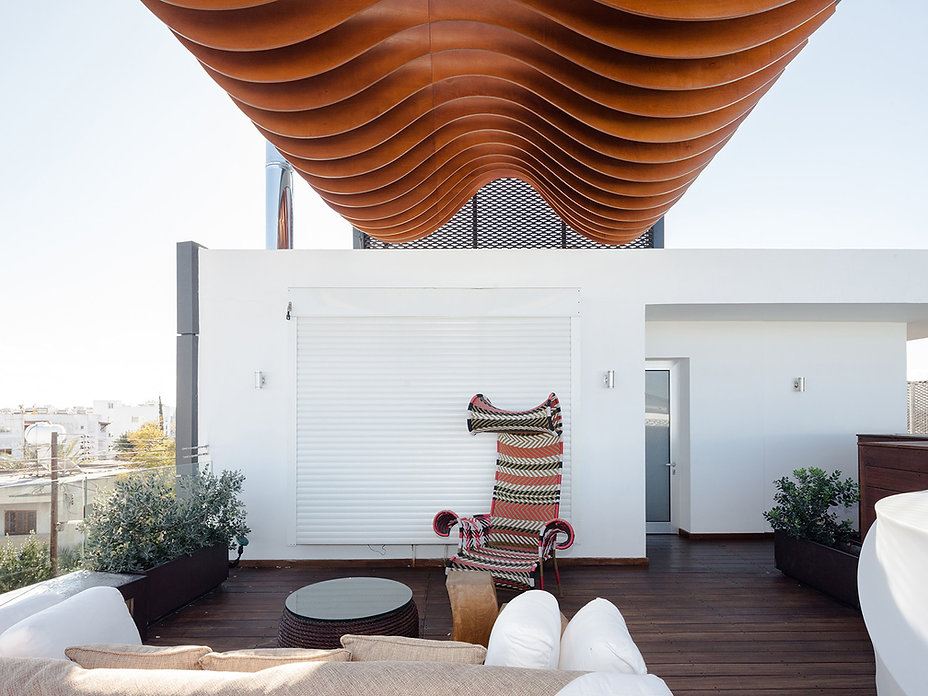 captivating photography of curvy outdoors roof pergola design