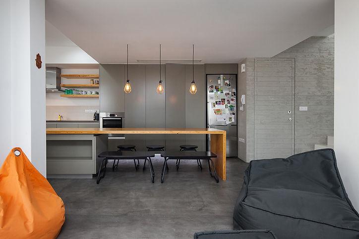 minimal kichen interior design with playful elements of architecture ekky studio architects