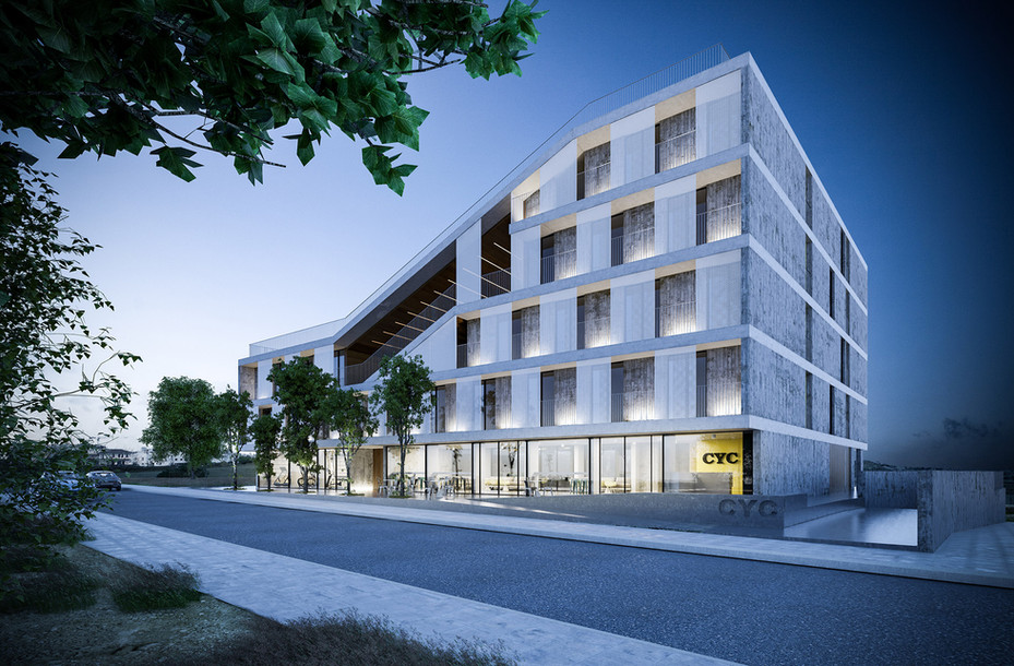 CYC Student Residence architecture