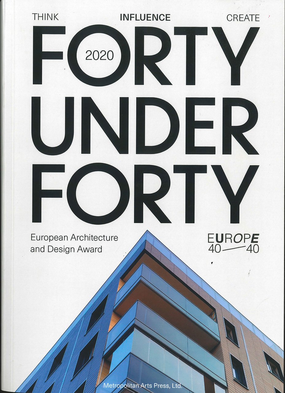 COVER OF FORTY UNDER FORTY