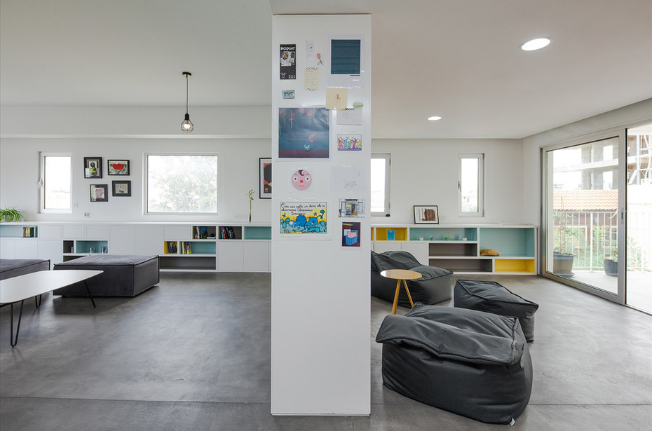playful and minimal living space architecture by ekky stuio architects in dwelling in nicosia cyprus