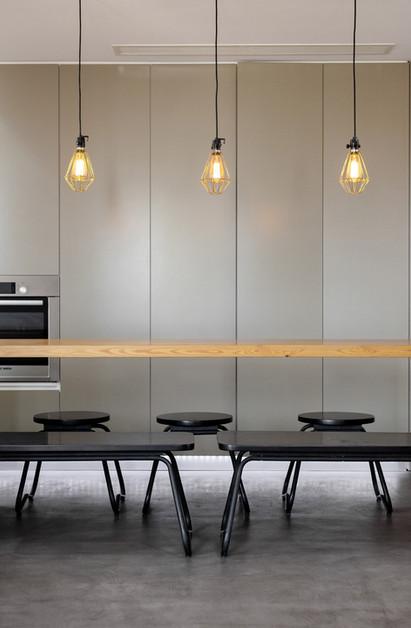 modern kitchen cloe up view