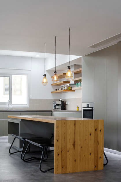 kitchen materiality by ekky studio architects in cyprus