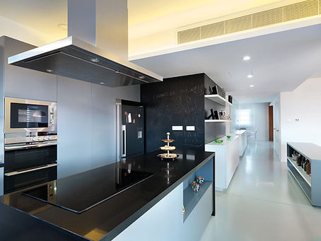 ekky studio architects kitchen space design of nidi apartment