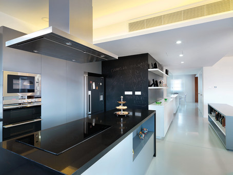 ekky studio architects kitchen space design of nidi apartment