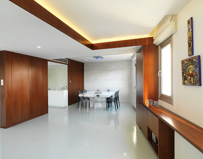 living space nidi apartment by ekky studio architects inerior architecture