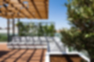 playful roof pergola installation in cyprus