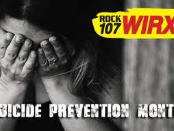 Rock 107 WIRX Suicide Prevention Focus