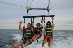 Brown's parasailing
